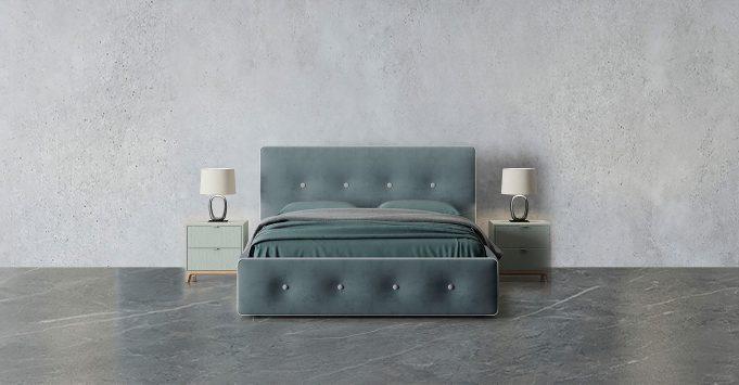 Интерьерная кровать Monica