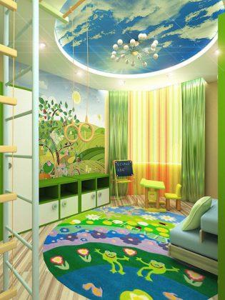 Комната в джунглях