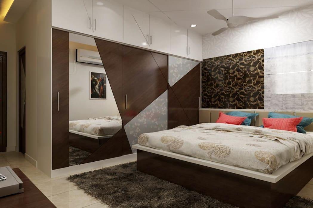 Кровать на платформе размера «king-size»
