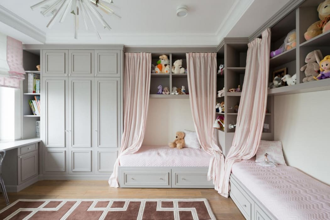 Вертикальный подход к мебели для спальни