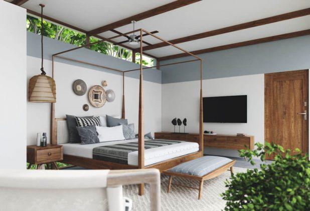 Кровать с балдахином для роскошного образа