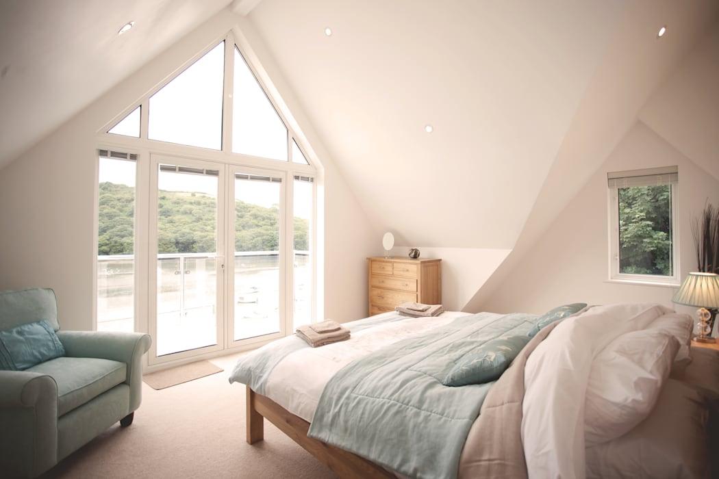 Белая спальня: найдите подходящую обстановку