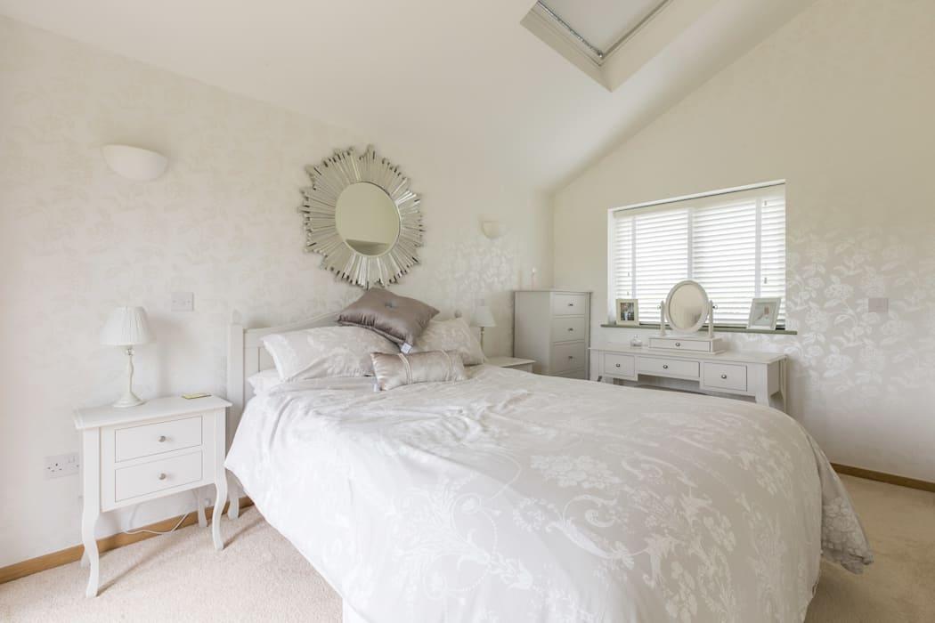 Белая спальня: выберите оттенки