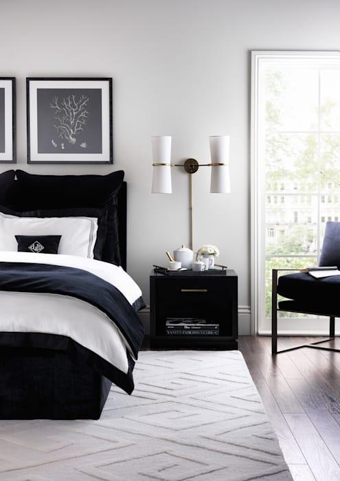 Белая спальня: игра с цветовыми комбинациями