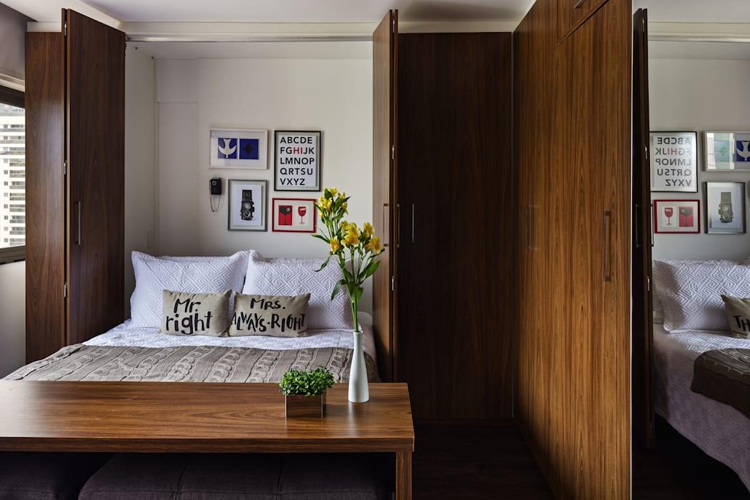 Кровать, спрятанная в шкафу
