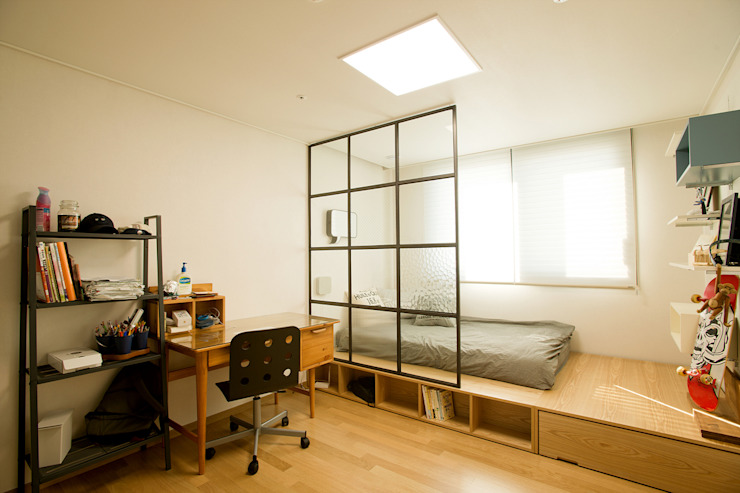 Разделите комнату с помощью перегородок