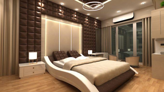 Кровать для эстетики комнаты